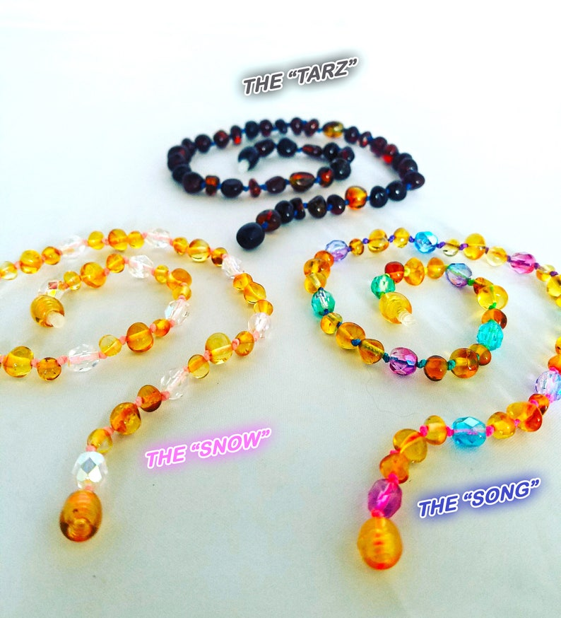 LIMITED EDITION Genuine Baltic Amber Necklaces for teething image 0