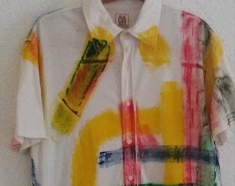 Vintage Shirt Desigual 1984