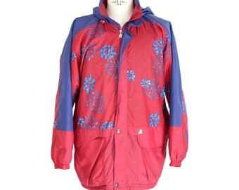 0363328d7b3a Lily Farouche Vintage Red Polyamide Ski Jacket
