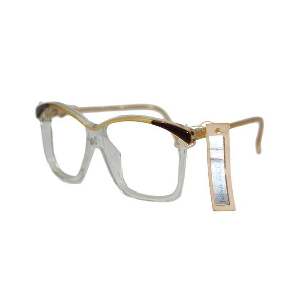 d675bc00a2f Nina Ricci Vintage Mod. 158 Gold and Gray Sunglasses