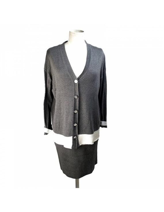 Gianfranco Ferrè Gray Vintage Silk Suit