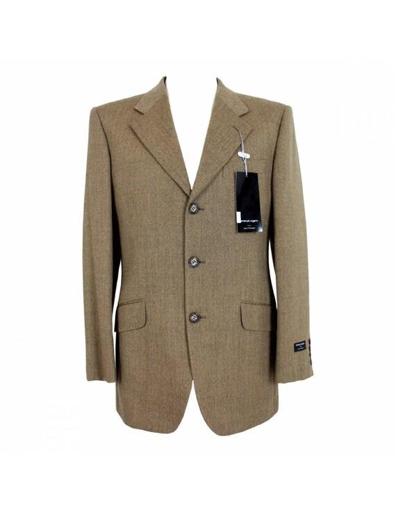 Emanuel Ungaro Classic Jacket Wool Vintage Brown