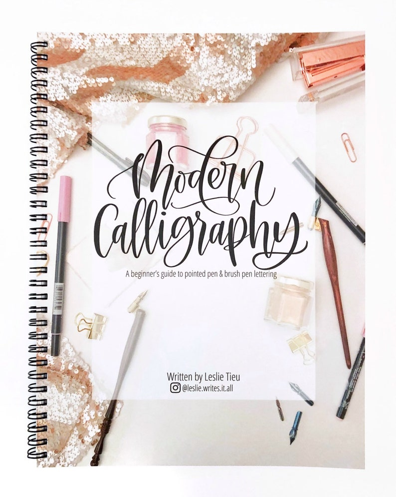 Modern Calligraphy KIT: includes 1 book and 2 pens image 0