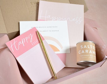 Happy & Bright Gift Set - Gift box for positive mindset