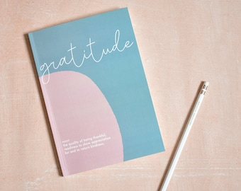 100-day Gratitude journal with prompts- A5 - FSC-Certified