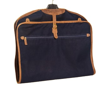 Cortina Clothing Case and Carrier with Brown Leather Details