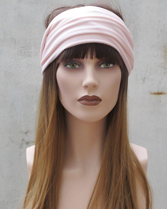 b1d02da5616 nude peach yoga headwrap headband boho hair turban womens head