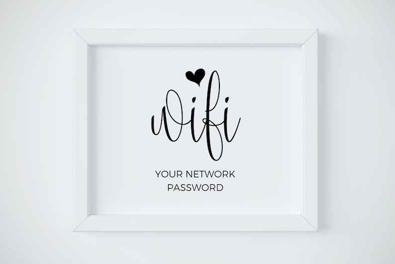 image about Wifi Password Printable identify Wifi Pword Printable, Wifi Pword Indication, Wifi Printable, Wifi Indicator, Wedding ceremony Wifi, Marriage ceremony Signs and symptoms, Wifi Print, Wifi Community Signal, Wifi