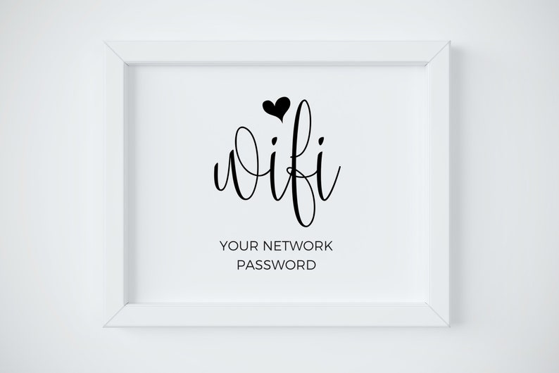 photograph about Wifi Password Printable named Wifi Pword Printable, Wifi Pword Indicator, Wifi Printable, Wifi Indication, Wedding ceremony Wifi, Wedding day Indications, Wifi Print, Wifi Community Indicator, Wifi