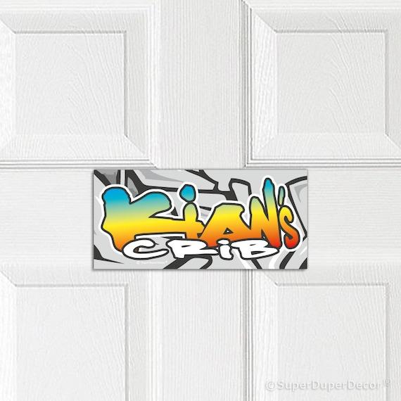 PERSONALISED BEDROOM DOOR SIGN PLAQUE DANTDM ZONE CHILD ROOM FREE UK DELIVERY