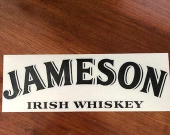 Jameson Irish Whiskey - Vinyl Sticker