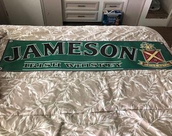 Jameson Irish Whiskey Vinyl Banner