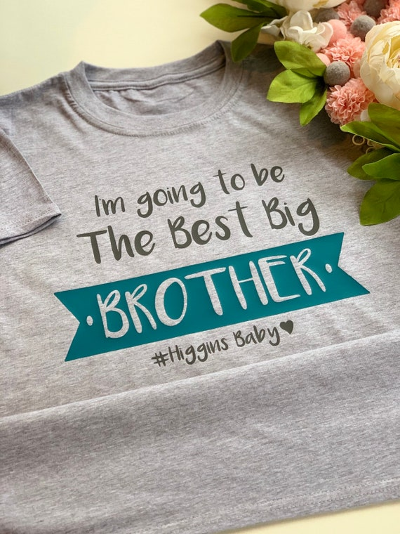 Big Sister  Personalised Baby//Vest  or tshirt pregnancy announcement