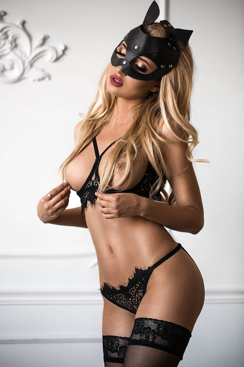 8bb428d46d1 Cupless bralette  See through bra  Ouvert bra  Erotic