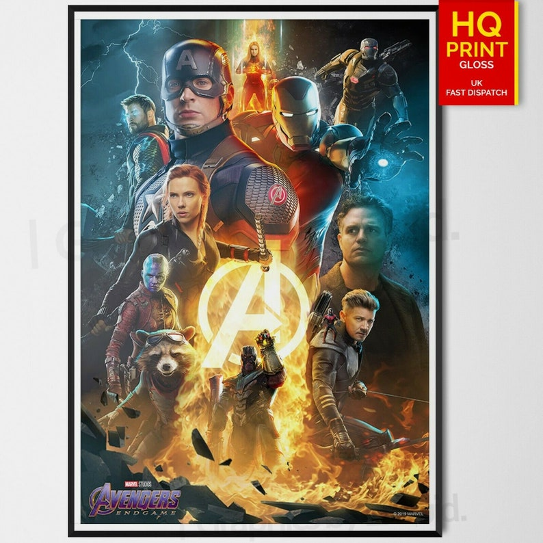 The Avengers Infinity War Marvel Movie Poster Print T007 A4 A3 A2 A1 A0|