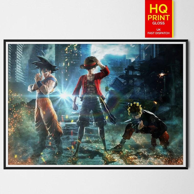 A4 A3 A2 A1 A0| Dragon Ball Z Goku Anime Poster Print T297