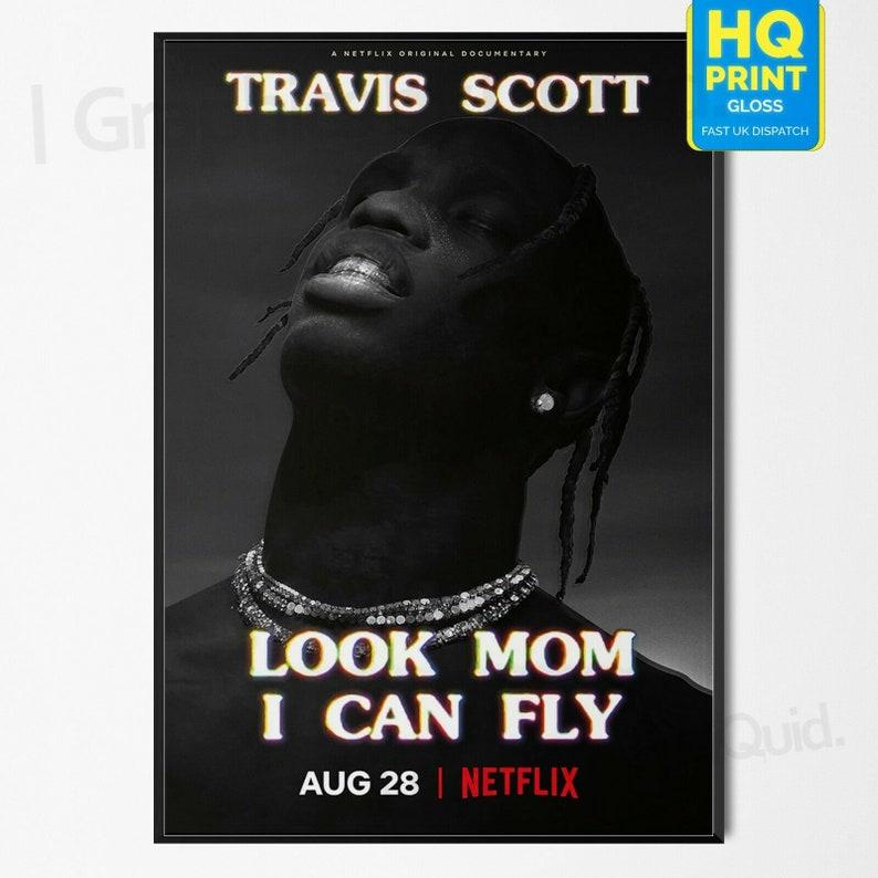 "Astroworld Travis Scott Poster Rap Album Cover Art Print 12x12/"" 24x24/"" 32x32/"" #2"