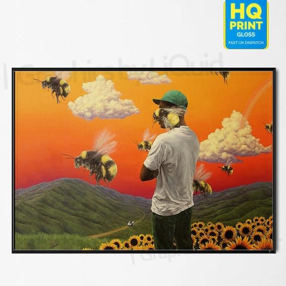 "Tyler The Creator Igor Poster 32x32/"" 24x24 Album Music Cover Art Back Print Silk"