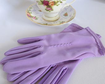 Vintage Gloves, Purple Gloves, Lavender Gloves, Gloves, Vintage, 50s, Fashion, Accessories, Purple, Costume