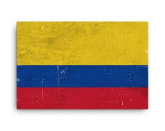 colombia flag etsy