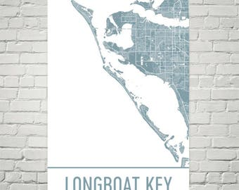 Siesta Key Florida Map.Siesta Key Map Sarasota Art Siesta Key Print Siesta Key Fl Etsy