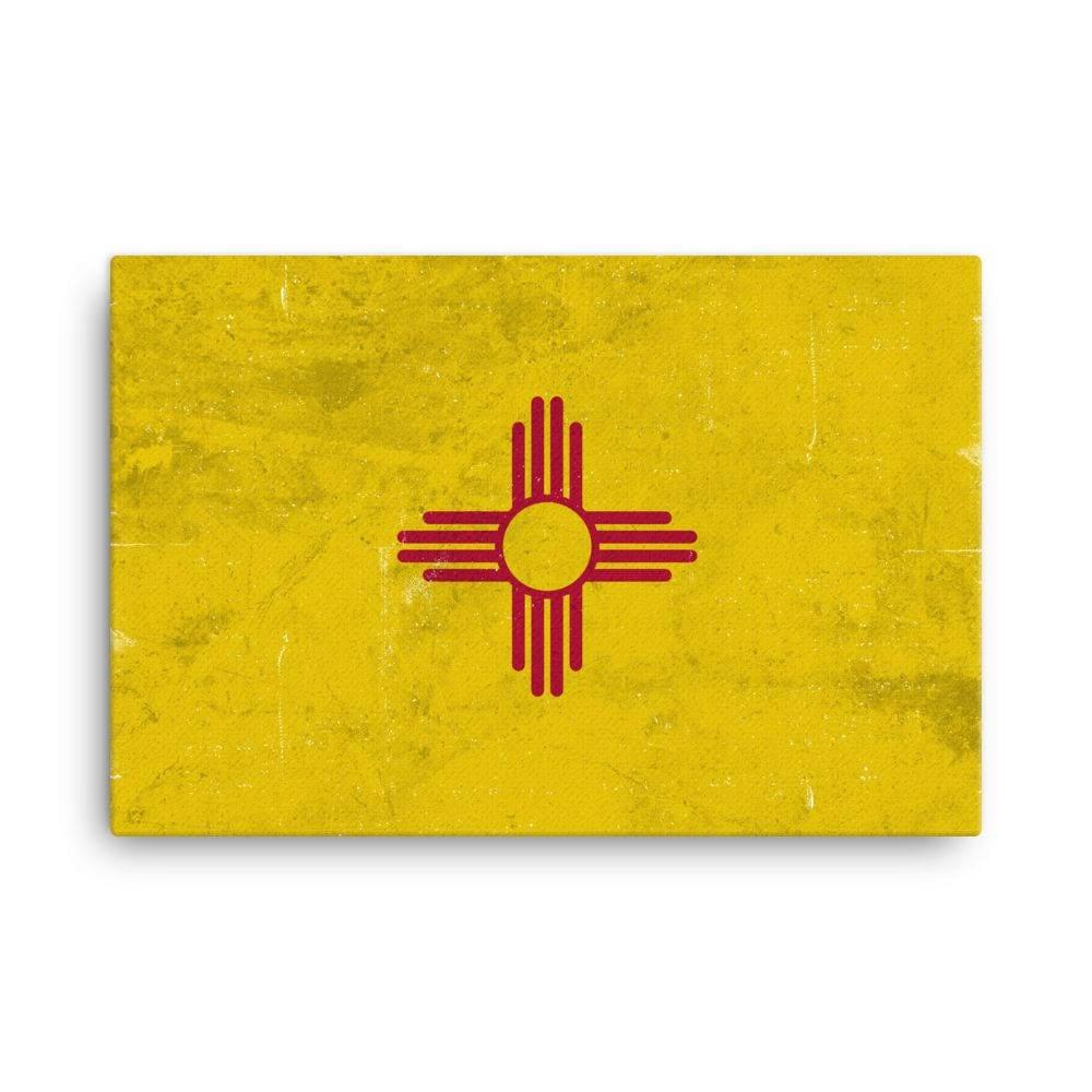 New Mexico Flag New Mexico Flag Art New Mexico State New   Etsy