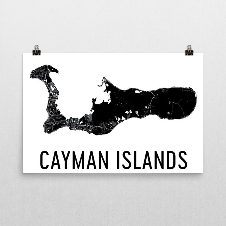 It is an image of Playful Printable Map of Grand Cayman