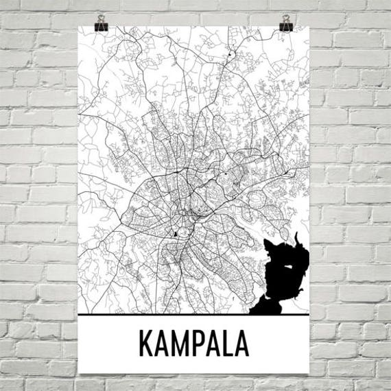 Kampala Map, Kampala Art, Kampala Print, Kampala Uganda Poster, Kampala on caracas street map, riyadh street map, sarajevo street map, haifa street map, tegucigalpa street map, mbarara street map, siem reap street map, asmara street map, george town street map, zagreb street map, niamey street map, ft. lauderdale street map, kathmandu street map, damascus street map, chiang mai street map, africa street map, colombo street map, amman street map, riga street map, banjul street map,