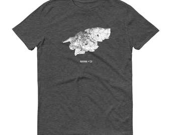 Havana Shirt, Havana, Cuba, Havana TShirt, Havana Gift, Havana Tee, Havana Map, Cuba Shirt, Cuba Map, Cuban Art, Cuban Shirt, Cuba Gifts