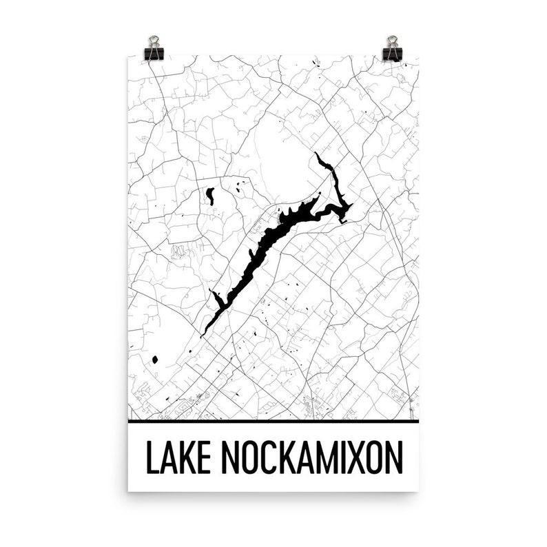 Lake Nockamixon Pennsylvania, Bucks County PA, Lake Nockamixon PA,  Pennsylvania Art, Pennsylvania Decor, Lake Map, Nockamixon Lake Art