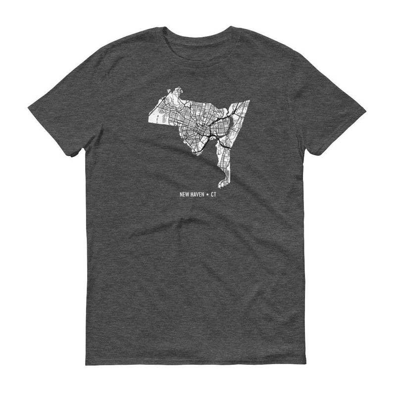 New Haven Shirt, New Haven CT, Yale, New Haven TShirt, New Haven Gift, on princeton map, mermaid map, harvard map, bates map, thames river on world map, wagner map, union map, amherst map, unitec map, ohio u map, london location on world map, west texas a&m map, albany state map, grambling state map, university of pennsylvania map, clayton map, city borders map, englewood map, ceibs map, loyola map,