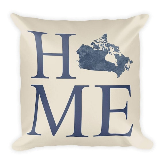 Canada Pillow Canada Gifts Canadian Decor Canada Home Etsy