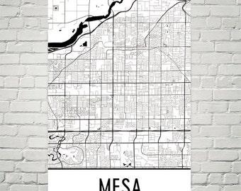 Mesa Map, Mesa Art, Mesa Print, Mesa Arizona Poster, Mesa Wall Art, Mesa Poster, Mesa Gift, Mesa Decor, Mesa Map Art, Mesa Art Print, Modern