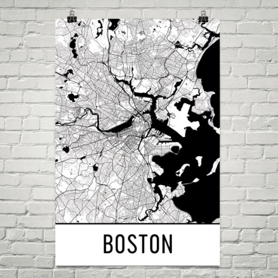 Boston Map, Boston Art, Boston Print, Boston Machusetts Poster, Boston on new england map, mass map, philly map, michigan map, fenway park map, texas map, charles town map, lexington map, america map, u.s. state map, united states map, ma map, phoenix map, mississippi map, massachusetts map, freedom trail map, pennsylvania map, ny map, usa map, cambridge map,