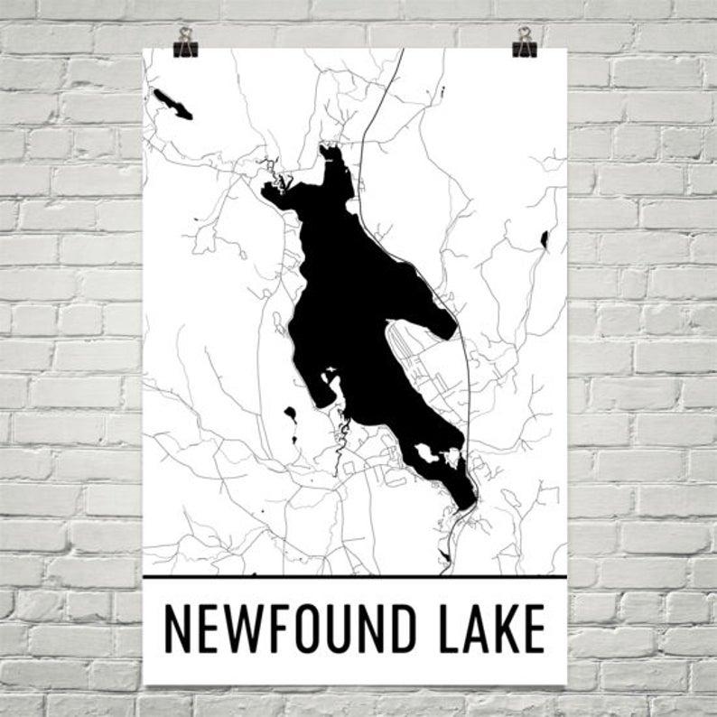 newfound lake nh map Newfound Lake New Hampshire Newfound Lake Nh New Hampshire Etsy newfound lake nh map