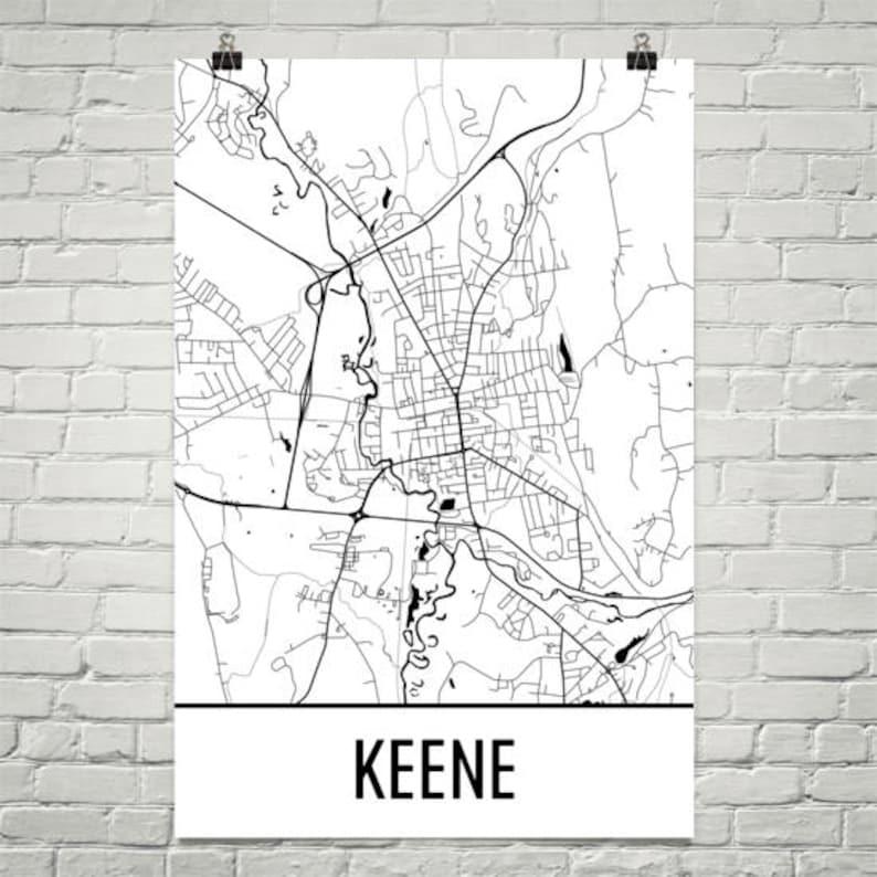 Keene NH Map, Keene State Art, Keene Print, Keene NH Poster, Keene on lancaster nh map, newburyport nh map, peterborough nh map, peabody nh map, hooksett nh map, methuen nh map, jacksonville nh map, connecticut new england map, keene new hampshire, nh state road map, westminster nh map, manchester nh on map, brattleboro nh map, plymouth nh map, franklin nh map, mansfield nh map, walpole nh map, buffalo nh map, cheshire nh map, monadnock mountain nh map,