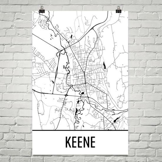 Keene NH Map, Keene State Art, Keene Print, Keene NH Poster, Keene on methuen nh map, buffalo nh map, hooksett nh map, connecticut new england map, keene new hampshire, brattleboro nh map, plymouth nh map, mansfield nh map, manchester nh on map, peabody nh map, jacksonville nh map, westminster nh map, franklin nh map, cheshire nh map, walpole nh map, newburyport nh map, peterborough nh map, lancaster nh map, nh state road map, monadnock mountain nh map,