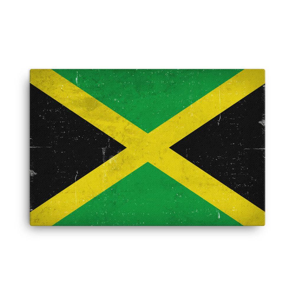 Jamaica Flag Jamaica Flag Art Jamaican Flag Jamaica Flag   Etsy