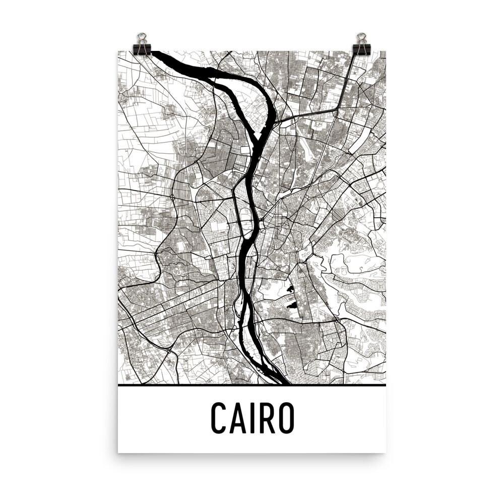 Cairo Kunst Cairo Druck Cairo-Ägypten-Poster Cairo | Etsy