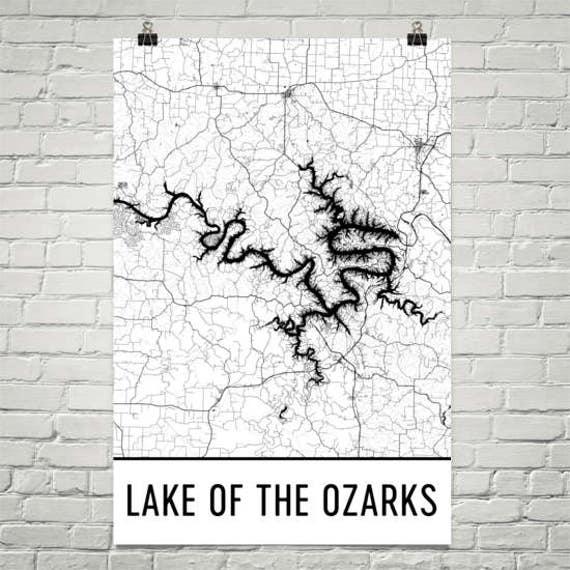 Lake Of The Ozarks Missouri Ozark Trail Ozark Mountain Lake Etsy