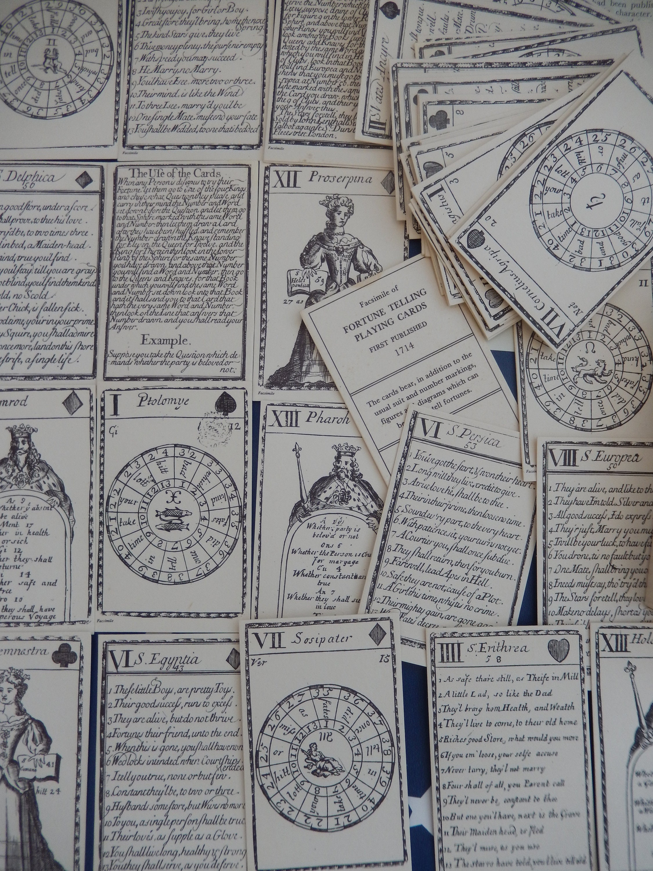 OOP Rare Fortune Telling Deck, Divination Astrology, Facsimilie Tarot  Cards, Ancient Fortune Edition Deck, Astrology, Fate Fortune Cards,