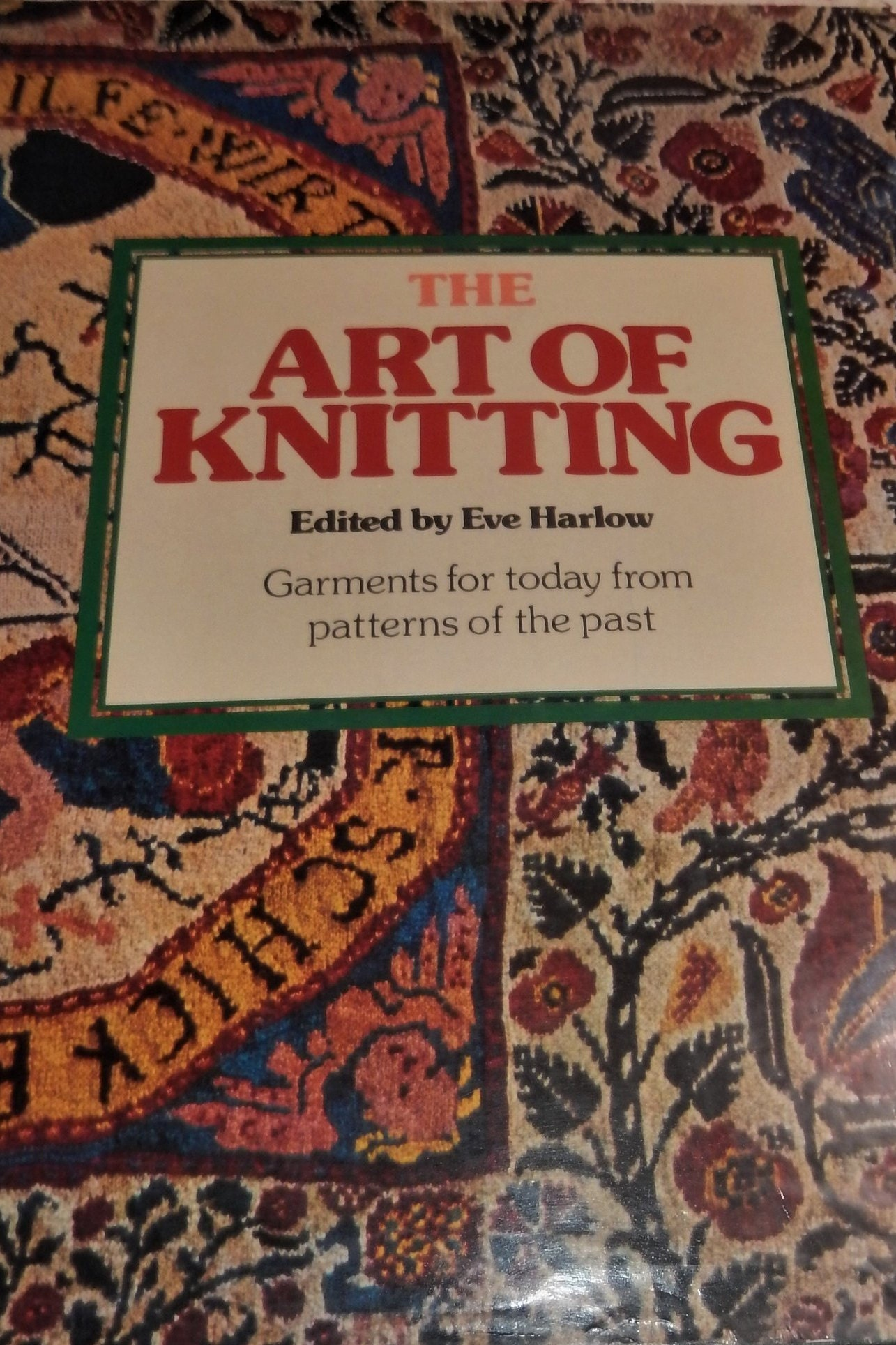 Traditional Knitting Book The Art Of Knitting Ist Ed Etsy