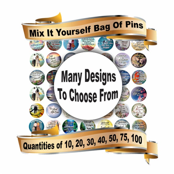 JW gifts/choose your own mix bag of 1 5