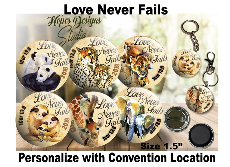 JW Gifts Love Never Fails 2019 Convention 'Mom and baby'/ 1 5
