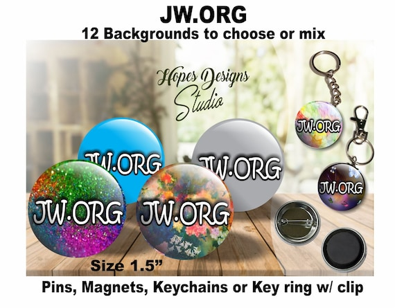 JW gifts/ JW ORG/pin,magnet,keychain,bag accessory/jw convention gifts/jw  baptism gifts/jw pioneer gifts/jw stuff/jw ministry/jw accessory