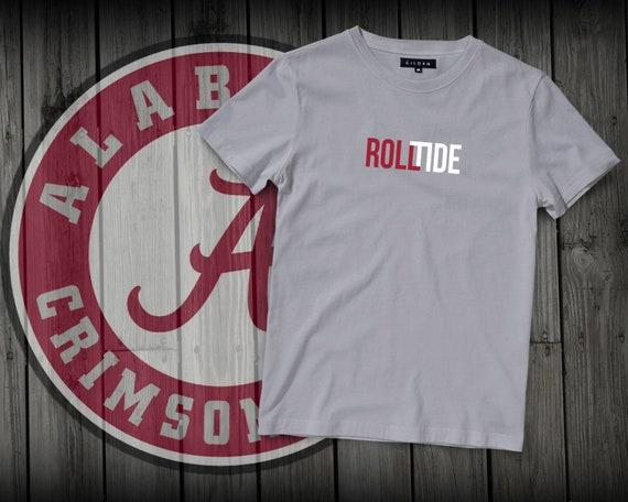 Alabama Crimson Tide Football Shirt . Roll Tide Tee Shirt