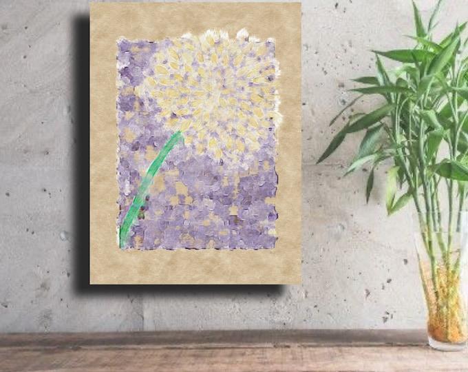 Hydrangea on Lilac ~ Digital Download