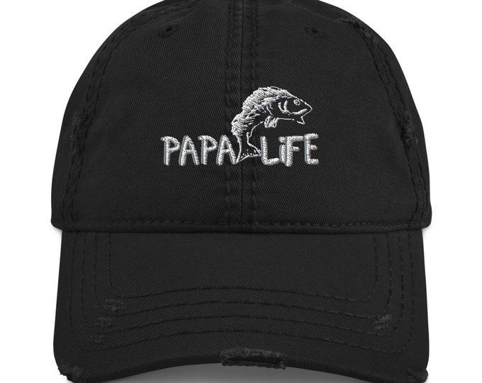 PaPa Life Distressed Dad Hat