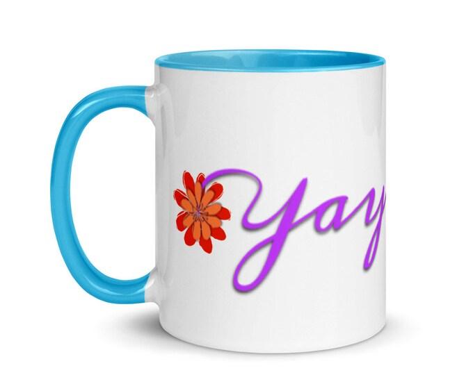 Yaya Life Mug with Color Inside