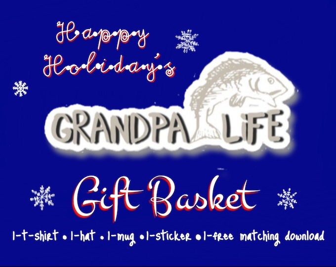 Grandpa Life Gift Basket